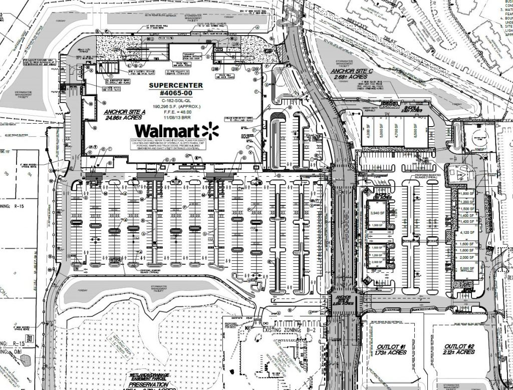 Final Site Plan for Bayshore Commons