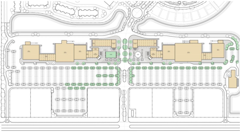 Site Plan at Retail
