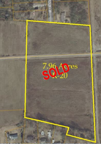 7.96 Acres Sold