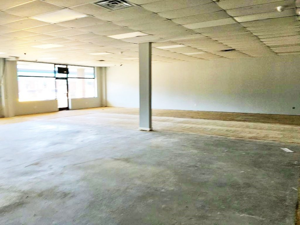 4,500 SF that can be broken up